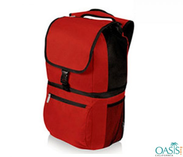 Red Trendy Picnic Bag Wholesale