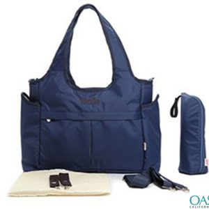Smart Navy Broad Belt Diaper Bag Wholesale
