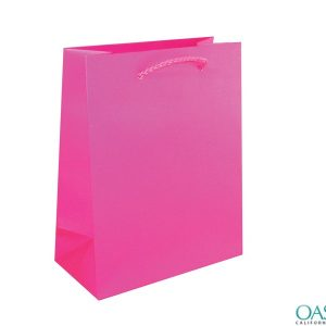 Bulk Smart Pink Custom Private Label Gift Bags Wholesale Manufacturer in USA, Canada, Australia