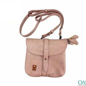 Soft Velvet Touch Baby Pink Handbag Wholesale