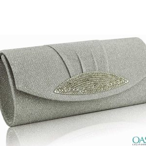Sparkling Jane Grey Clutch Bag Wholesale