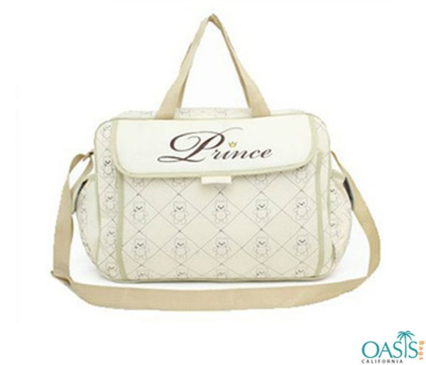 Super Cream Diamond Pattern Bag Wholesale