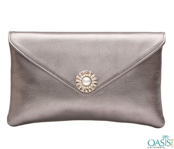 Superior Leather Envelope Clutch Bag Wholesale