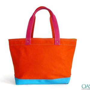 Tangerine Orange Tote Bag Wholesale