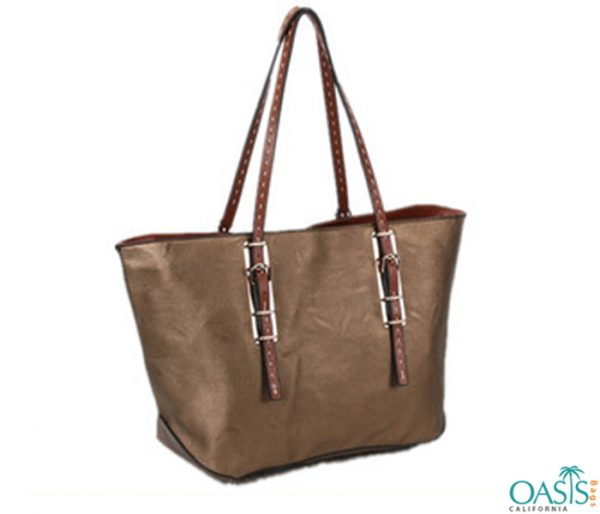 Tote Bag In Bronze Wholesale Manufacturer in USA, Canada, Australia