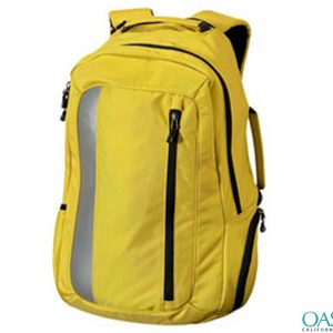 Trendy Yellow Backpack Laptop Bag Wholesale