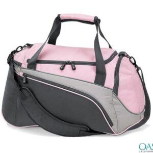 Bulk Tangerine Orange Custom Private Label Duffle Bags Wholesale Manufacturer