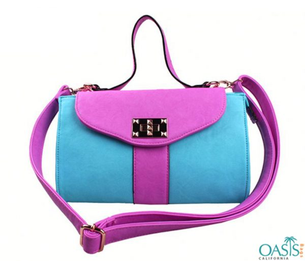 Turquoise and Pink Handbag Wholesale