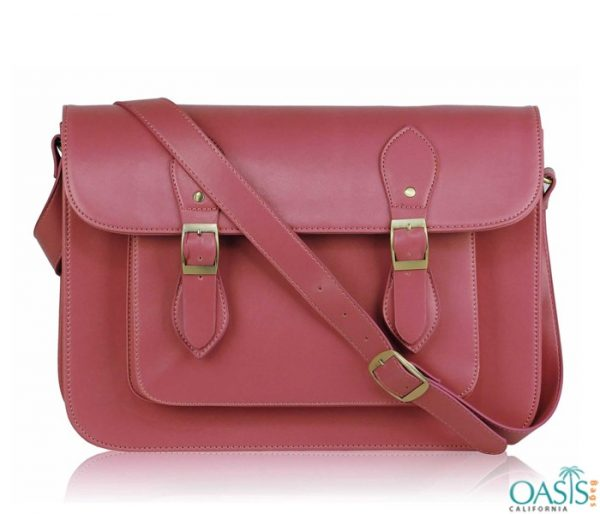 Bulk Warm Pink Custom Private Label Satchel Bags Wholesale Manufacturer in USA, Canada, Australia