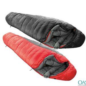 broad top sleeping bag