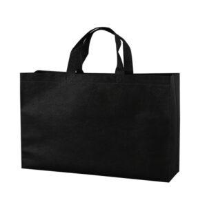 black canvas tote bags
