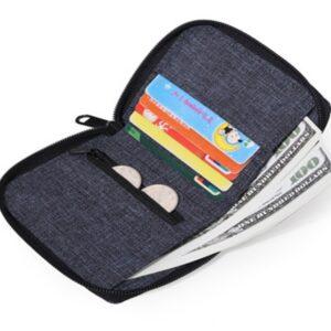 metal slim wallet
